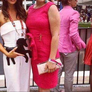 Pink Ellen Tracy Shift Dress